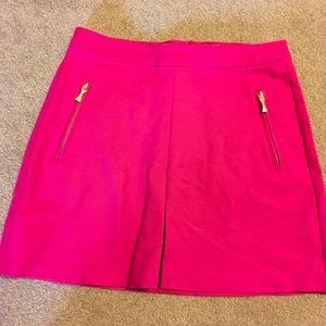 Kate Spade Skirt the Rules Hot Pink Sz 14 Skirt